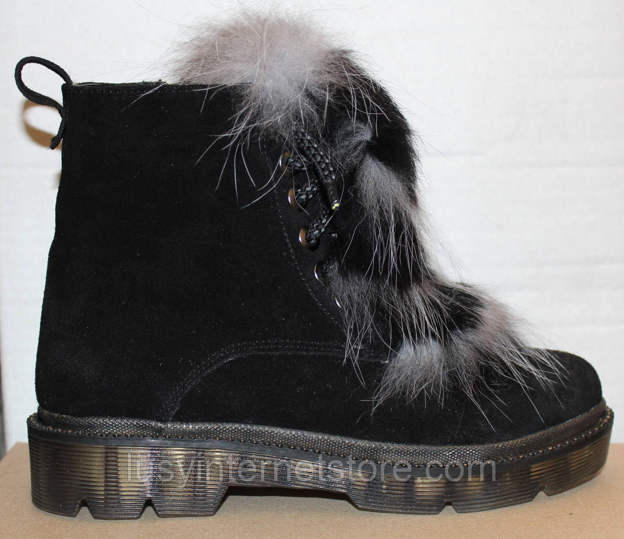 Ботинки зимние женские с натуральным мехом от производителя модель УН500-1