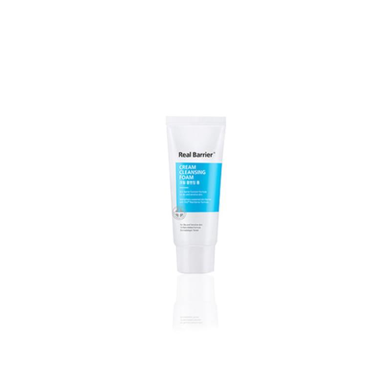 Кремовая очищающая пенка Real Barrier Cream Cleansing Foam, 15g