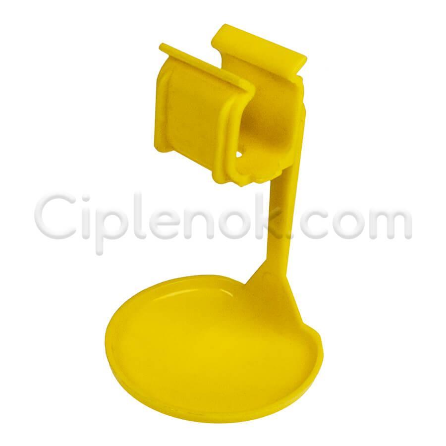 Каплеулавливатель (каплеуловитель) на квадратную трубу желт.