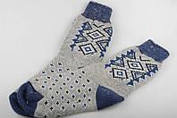 Шерстяные носки, теплые вязаные носочки, мужские зимние носки, фото 1