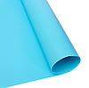 Голубой матовый ПВХ (виниловый) фон Puluz для предметной фото и видео съемки 200 х 120 см., фото 4