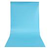 Голубой матовый ПВХ (виниловый) фон Puluz для предметной фото и видео съемки 200 х 120 см., фото 3