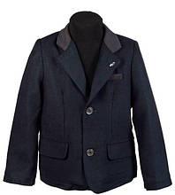 Детский пиджак для мальчика De Salitto Италия 53280-DL темно синий
