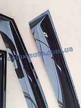 Ветровики Cobra Tuning на авто Jaquar XF I Sd 2008-2015 Дефлекторы окон Кобра для Ягуар ХФ 1 седан 2008-2015