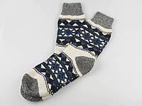Шерстяные носки мужские, теплые вязаные носочки, мужские зимние носки, фото 1
