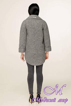 Женское короткое пальто весна-осень (р. 44-54) арт. 1183 Тон 10, фото 2