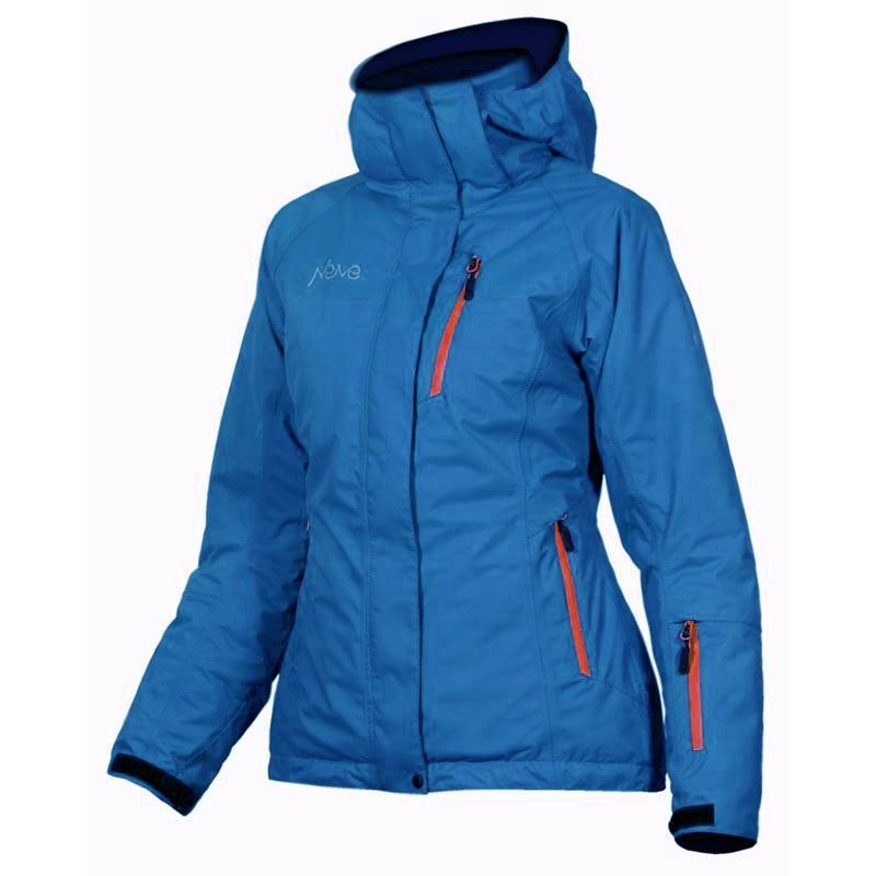 Женская горнолыжная куртка Neve Fusion голубая