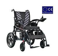Складная электроколяска DYL 6024. Инвалидная коляска. Кресло для инвалида. Кресло коляска.