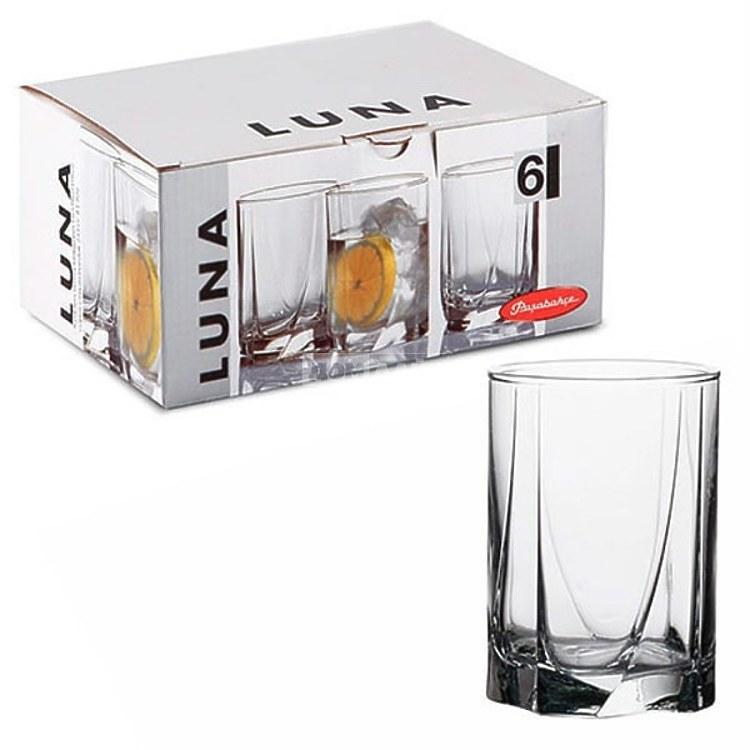 Набор средних стаканов Pasabahce Luna 250мл 6шт.