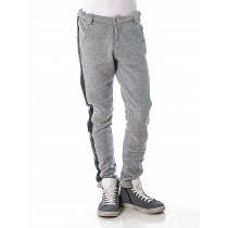 Утепленные брюки для девочки JBE Италия 143BIBM001 Серый