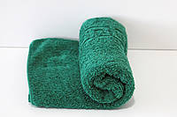 Махровое полотенце Mahrof Store для лица 50х90см зеленое