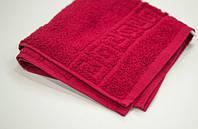 Махровое полотенца Mahrof Store 50х90см бордовый