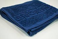 Махровое полотенце Mahrof Store  50х90см темно синий