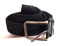 Ремень резинка плетеный черный 110х3,5 см