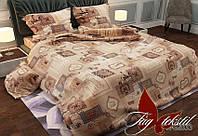 Комплект постельного белья двуспальный хлопок 100% Ранфорс TAG RG2033