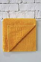 Махровое полотенце  Mahrof Store 50х90см желтый