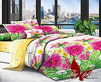 Комплект постельного белья семейный с 2-мя пододеяльниками Поликоттон TAG XHY717