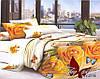 Комплект постельного белья семейный с 2-мя пододеяльниками Поликоттон TAG XHY2118