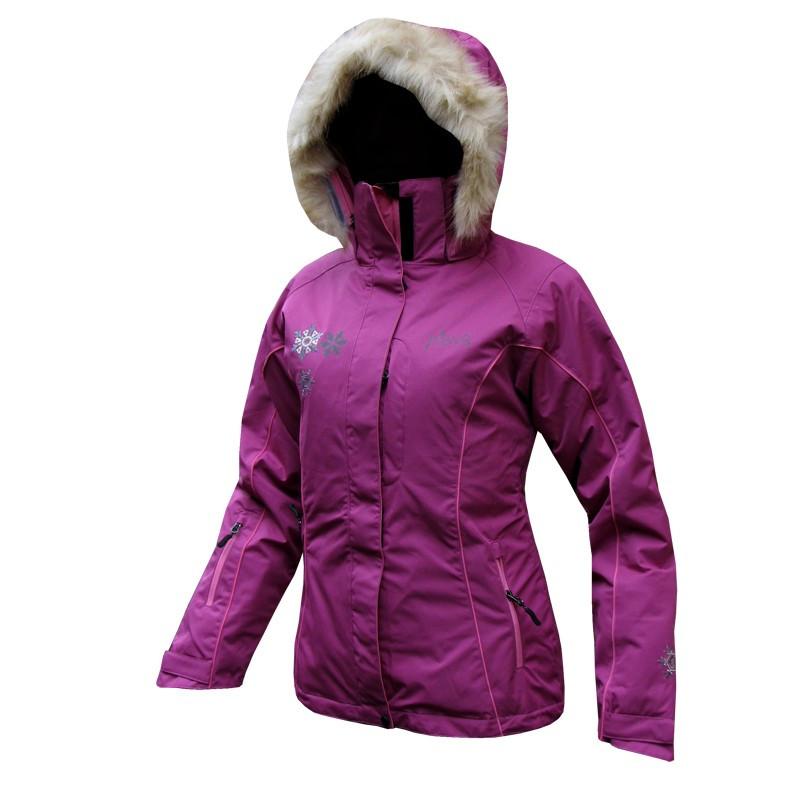 Женская горнолыжная куртка Neve Naja сиреневая