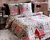 Комплект постельного белья двуспальный хлопок 100% Ранфорс TAG Прованс розовый
