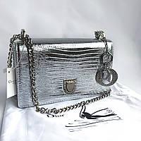 Сумка Dior silver