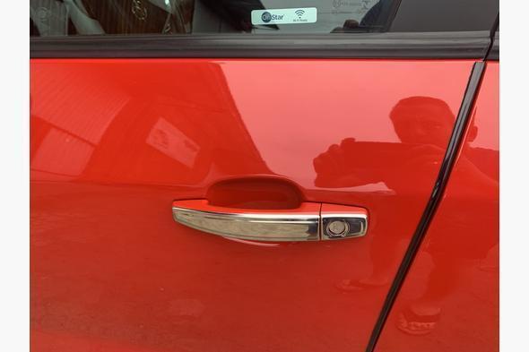 Накладки на ручки УЗКИЕ (4 шт, нерж) Chevrolet Cruze 2009↗ гг.