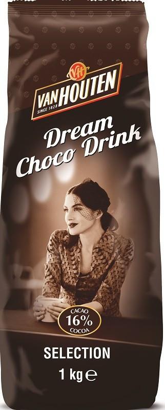 Шоколадный напиток Van Houten Dream Choco Drink 1кг