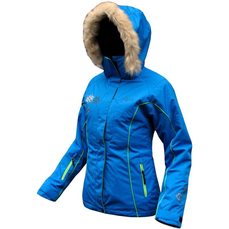 Женская горнолыжная куртка Neve Naja голубая