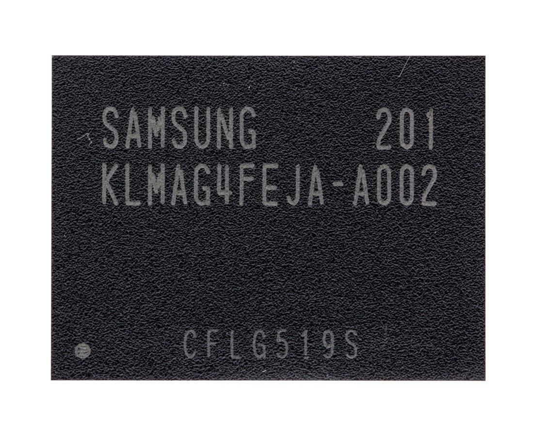 Микросхема памяти Samsung KLMAG4FEJA-A002, 16GB, BGA153