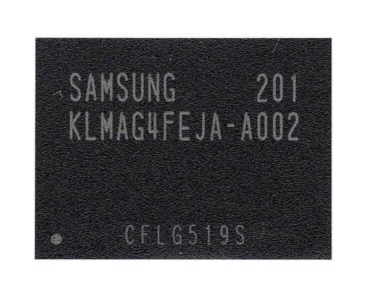 Микросхема памяти Samsung KLMAG4FEJA-A002, 16GB, BGA153 , фото 2