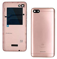 Задняя крышка корпуса Xiaomi Redmi 6A (с разборки) Original  Pink