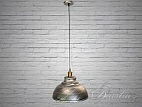 Люстра-подвес светильник в стиле Loft 6858-360-BK-SV