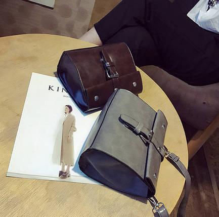 Стильныя небольшая сумочка с мраморным оттенком, фото 2