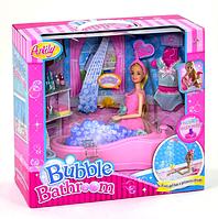Игровой набор Кукла в ванной комнате
