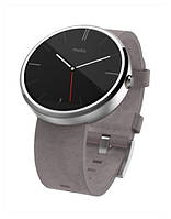 Motorola Moto 360 Stone Grey Leather