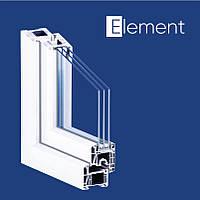 Окно металлопластиковое Kömmerling 70 ST plus Германия