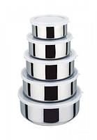 Набор металлических лотков для продуктов (5 штук)  Kamille 4314