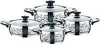 Набор индукционной посуды Krauff (8 пр.) 22910