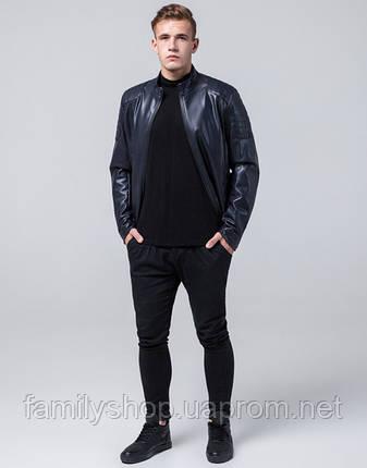 Braggart Youth | Осенняя куртка 4129 темно-синий, фото 2