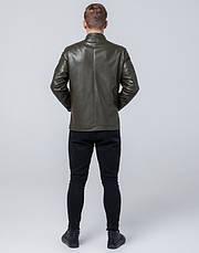 Braggart Youth | Куртка экокожа 4129 хаки, фото 3