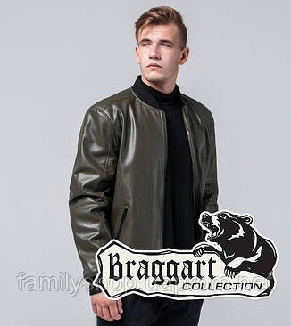 Braggart Youth | Осенняя куртка 4055 хаки, фото 2