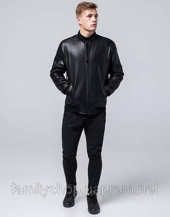 Braggart Youth   Куртка экокожа 4055 черный, фото 2
