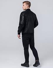 Braggart Youth   Куртка экокожа 4055 черный, фото 3