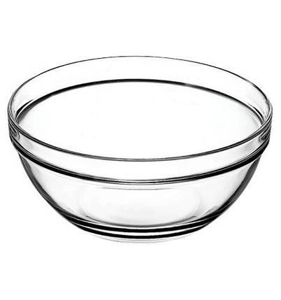 Chefs (1шт) салатник стеклянный, 20 см, фото 2