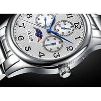 Мужские механические часы с автоподзаводом AESOP VIKTOR с сапфировым стеклом