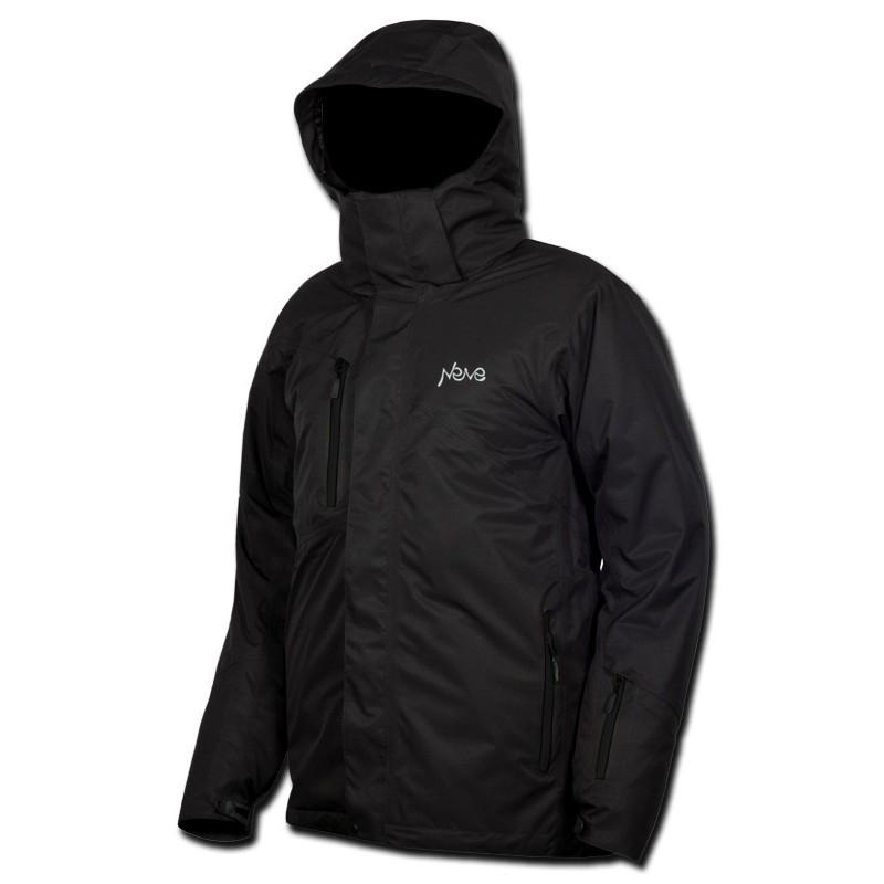 Мужская горнолыжная куртка Neve Flint  черная