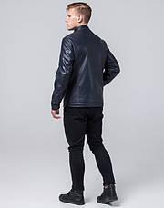 Braggart Youth   Куртка экокожа 2193 темно-синий, фото 3