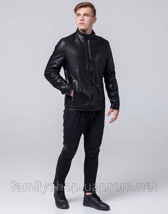 Braggart Youth | Куртка осенняя 2193 черный, фото 2