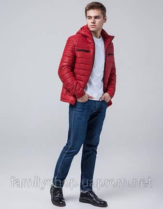Braggart Youth | Куртка экокожа 2260 красный, фото 2