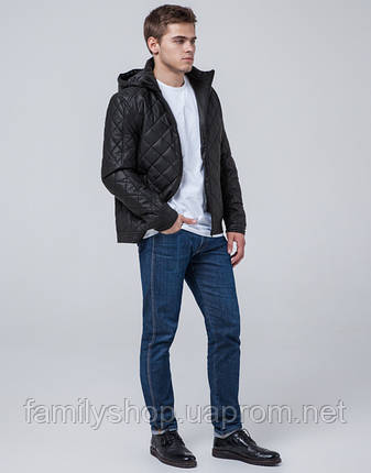 Braggart Youth | Куртка осенняя 2072 черный, фото 2